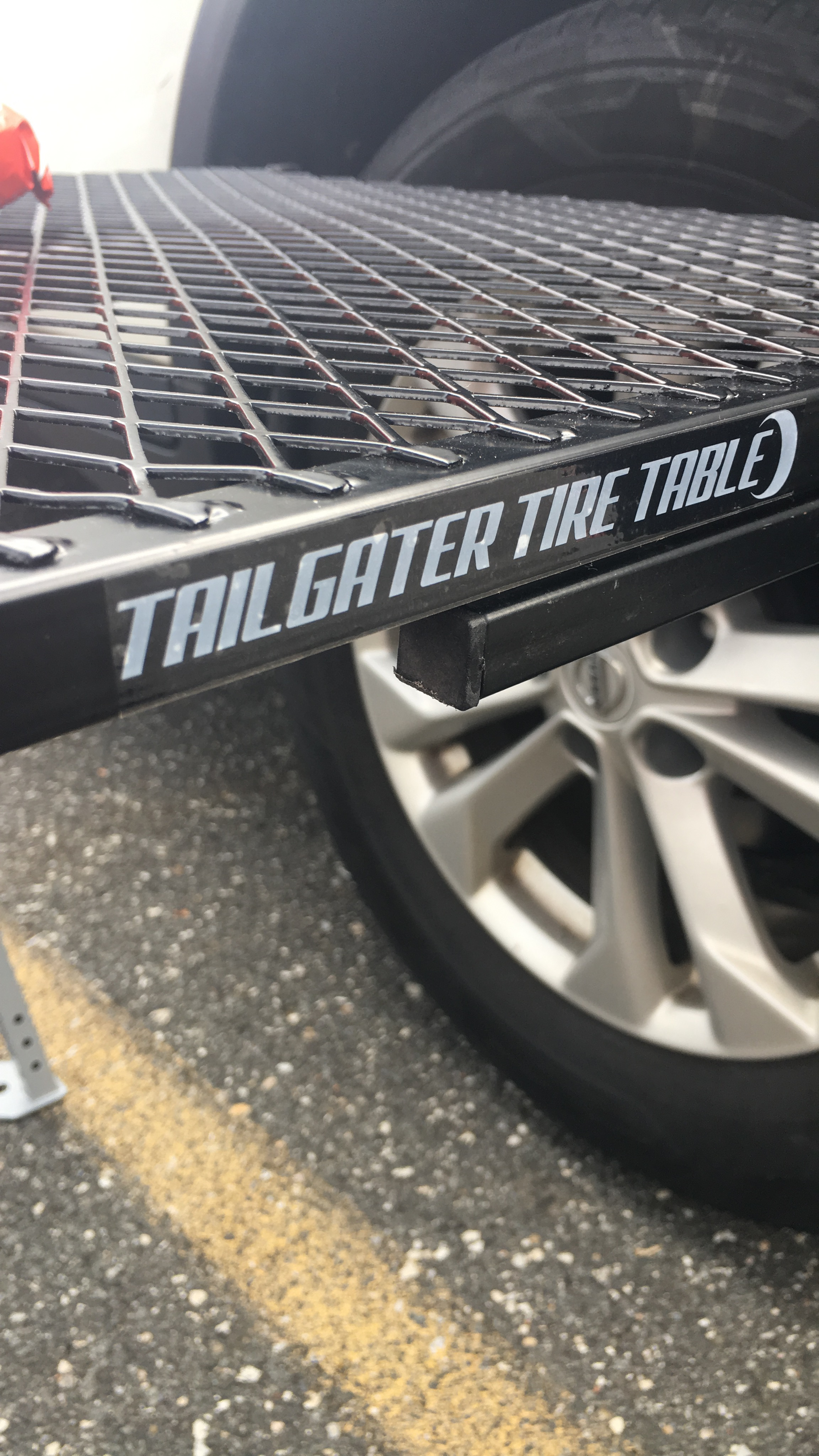 Tailgater Tire Table Product Review The Tailgate